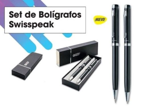 Set de bolígrafos SwissPeak